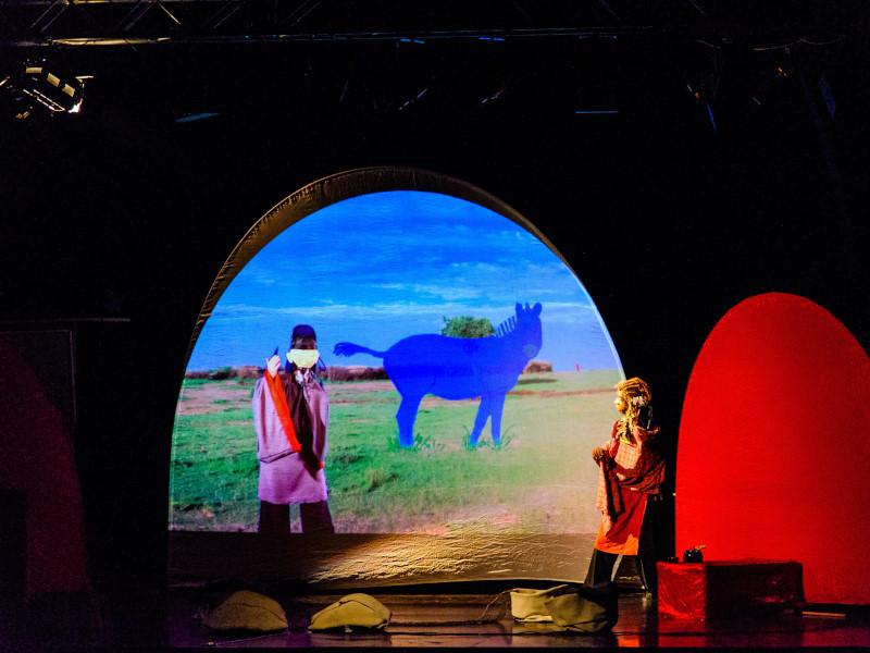 En Santiago culmina la gira internacional de teatro visual