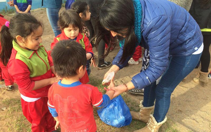 Alumnos de Educación Diferencial potenciaron el aprendizaje y conciencia medio ambiental de niños de escuelas rurales