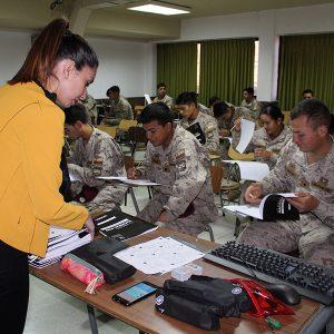 Soldados conscriptos de Antofagasta y Calama participaron en Ensayo PSU