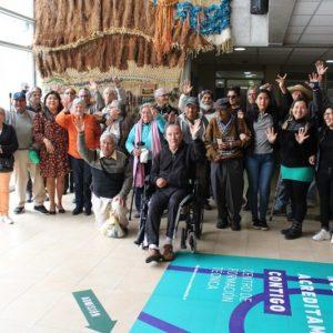 Adultos mayores de Arica revivieron el mundial del ´62 con documental local