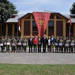 Soldados conscriptos fueron certificados como Guardaparques