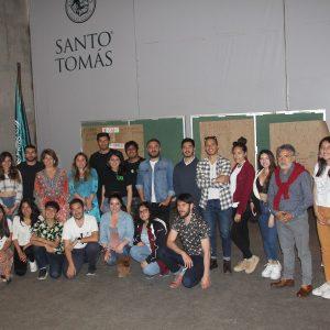 Facultad de Salud de Santo Tomás La Serena realiza cabildo respecto a la visión de la contingencia nacional en estudiantes del área.