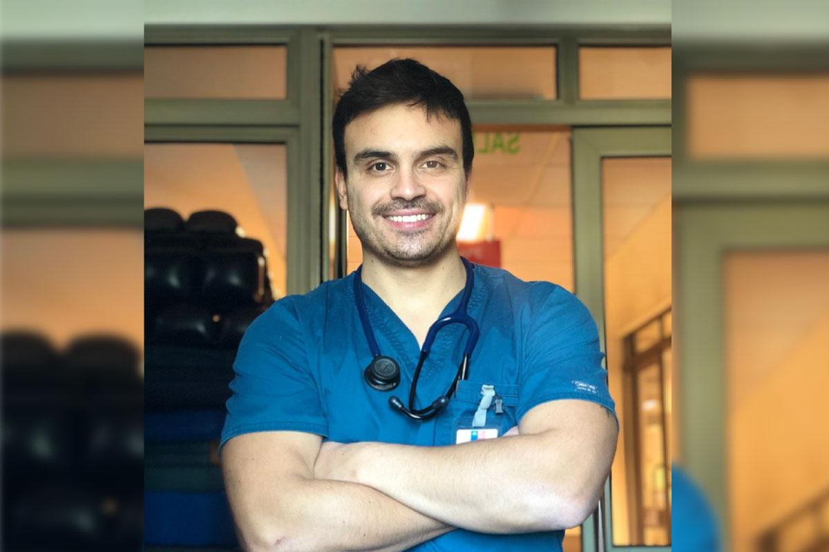 "Jorge Silva Osses, Kinesiólogo Intensivo: ""Cada d ..."