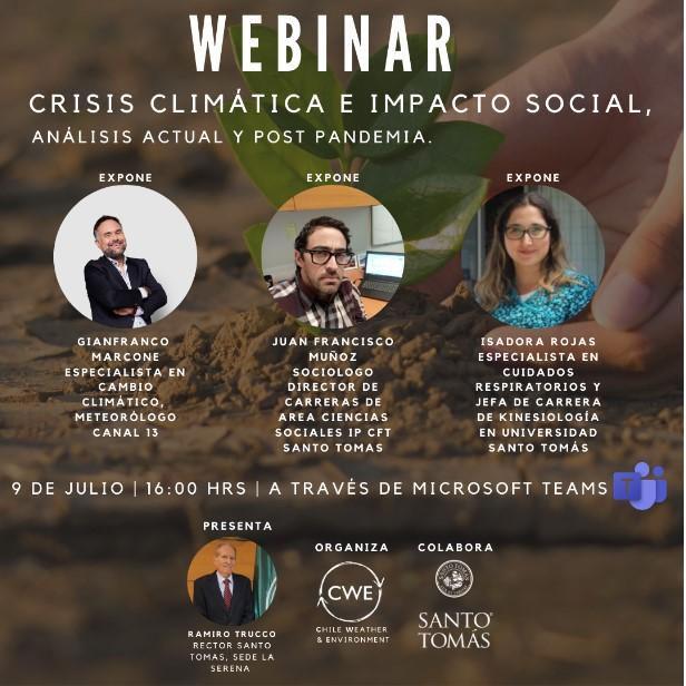 Webinar: Crisis Climática e Impacto Social, análisis a ...