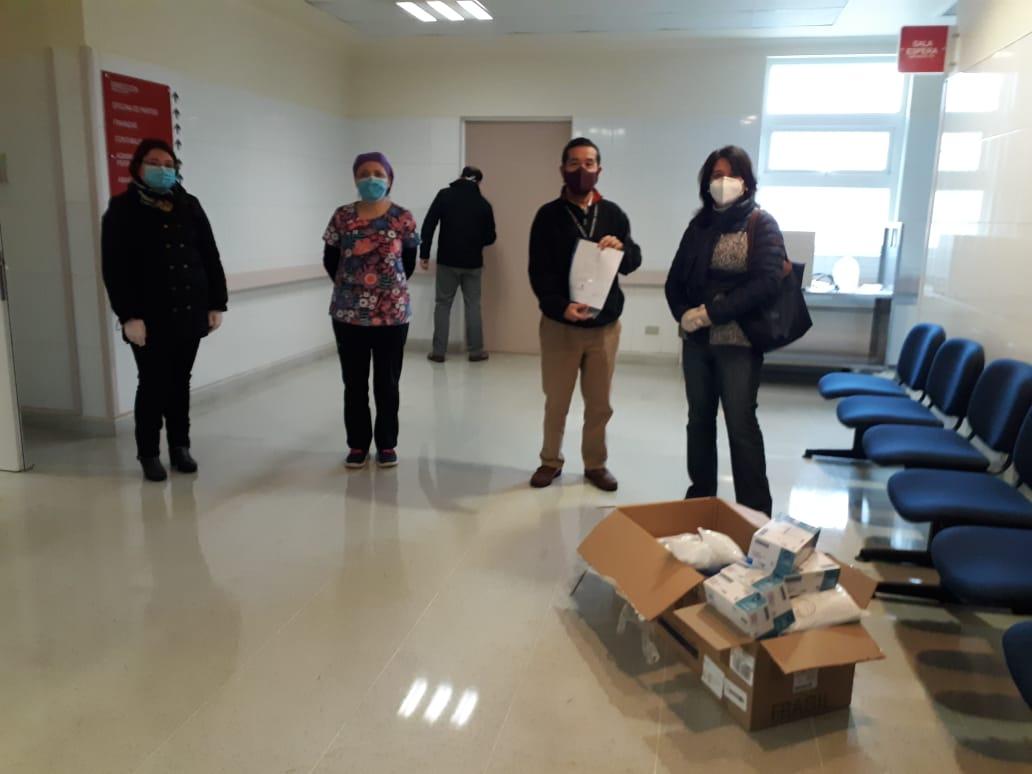 Santo Tomás Valdivia realizó aporte a hospitales de Co ...