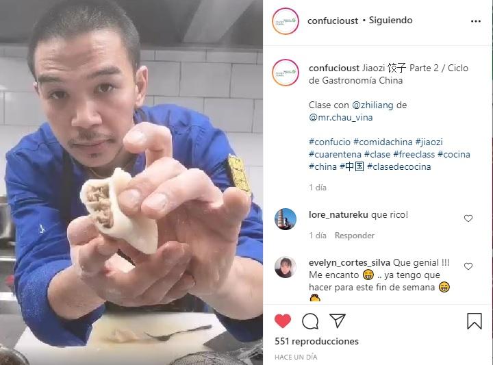 """""""La gastronomía china parece tener un mundo infinito"""""""