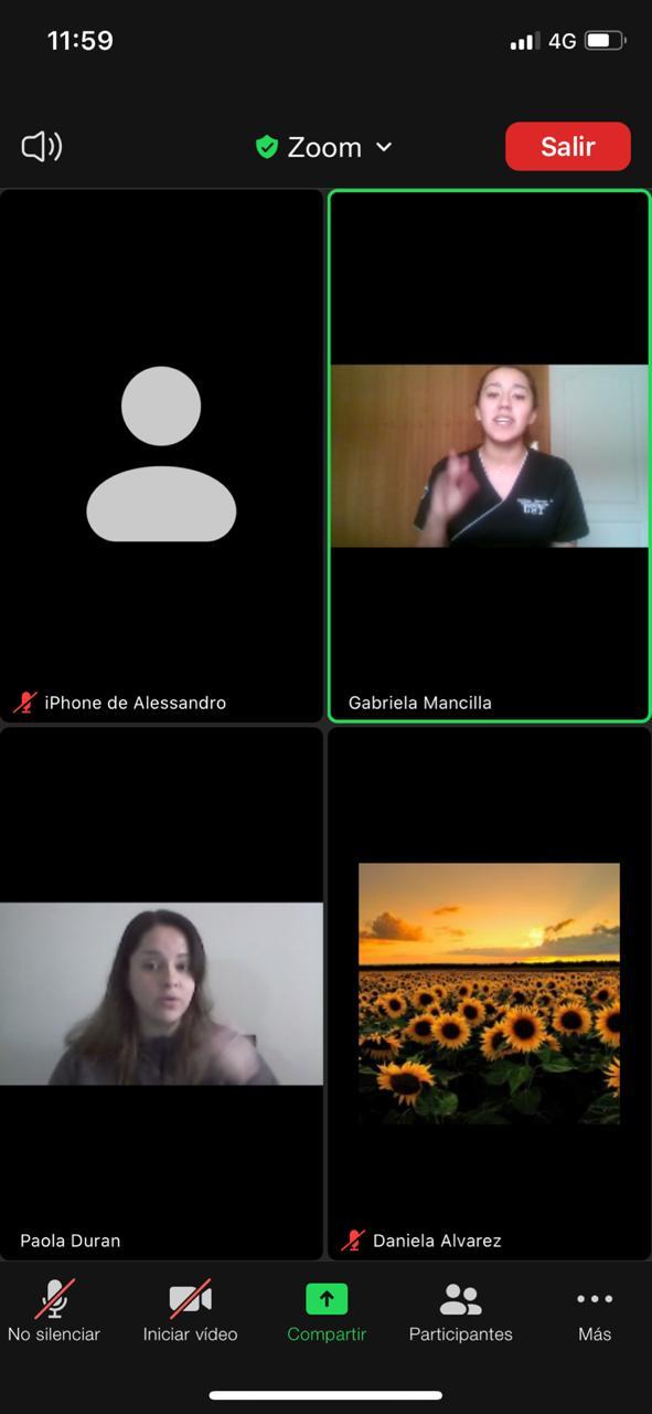 Alumnos de Fonoaudiología UST Osorno realizan atenciones gratuitas a distancia