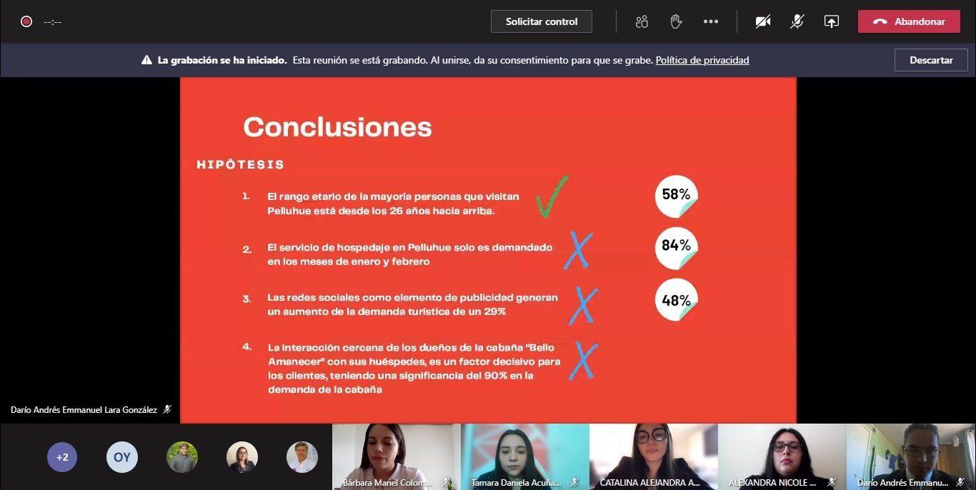 Estudiantes de Ingeniería Comercial asesoran online a e ...