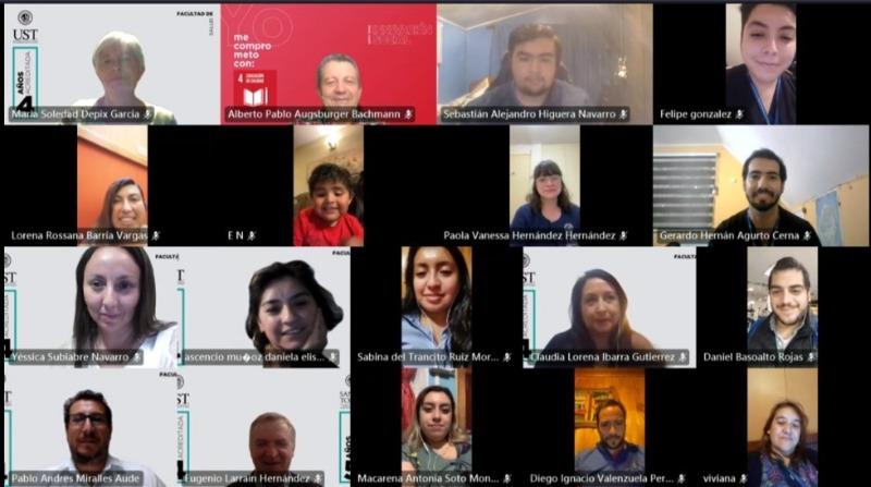 UST reconoce a estudiantes que participan en campaña na ...