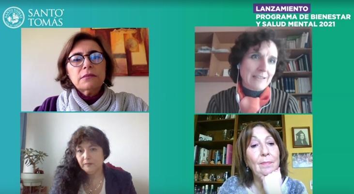 Con énfasis en los canales de apoyo institucionales Santo Tomás lanza Programa de Bienestar y Salud Mental 2021