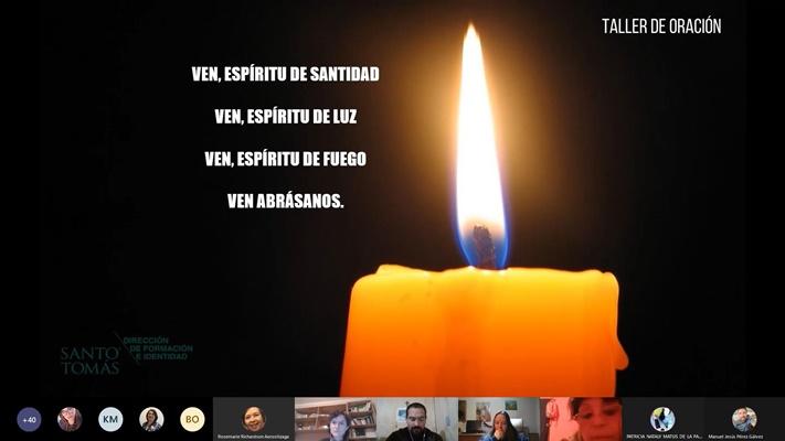 Taller de Oración virtual reúne a miembros de la comunidad Santo Tomás de todo el país