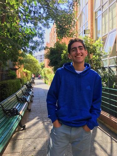 """Kevin Sura: """"Soy un chico lleno de ilusión y motivaci ..."""