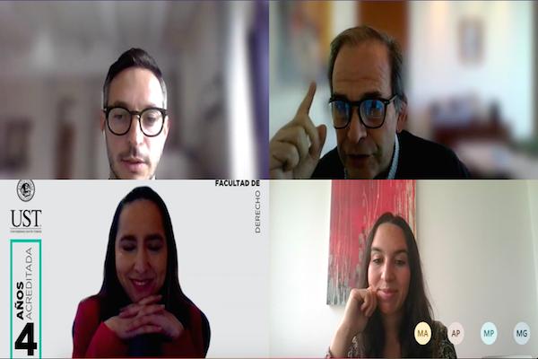 Académicos de Inglaterra, España y Chile dialogaron sobre Derechos Humanos en Europa e Iberoamérica