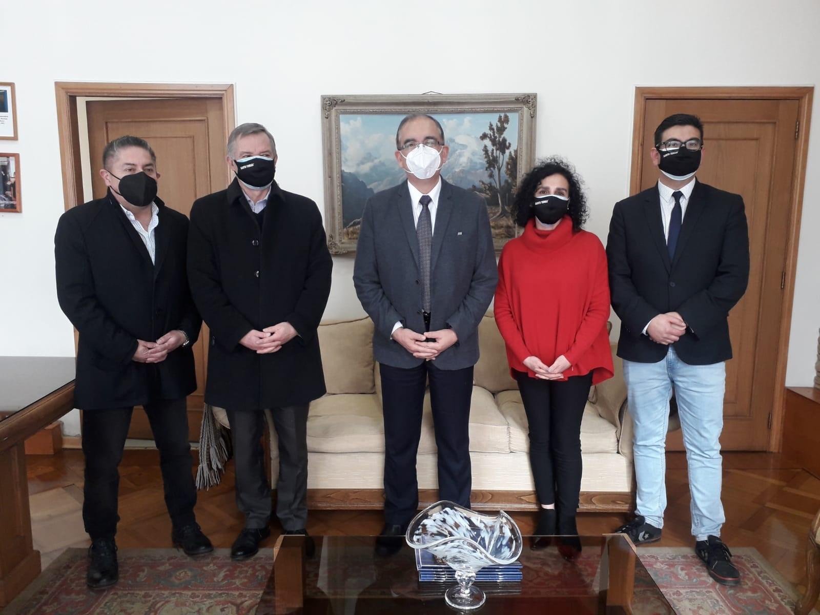 Rector de Instituciones Santo Tomás de Osorno se reunió con alcalde para reforzar trabajo en conjunto