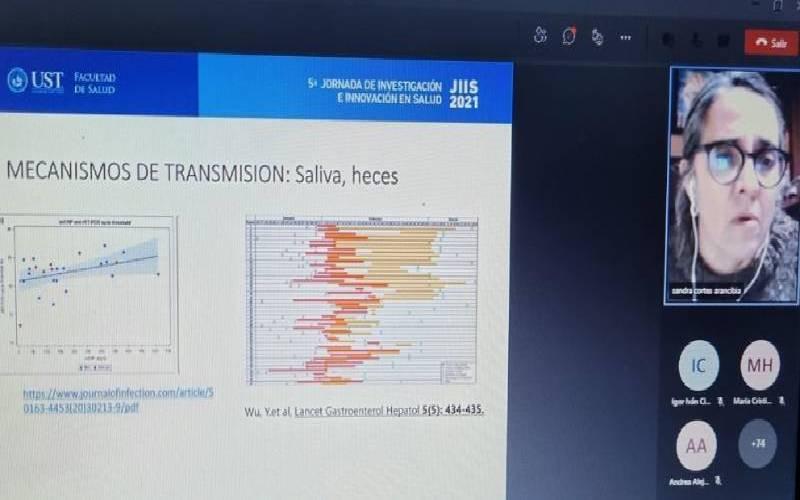 UST Talca inauguró JIIS 2021 analizando los nuevos desafíos para una salud integral