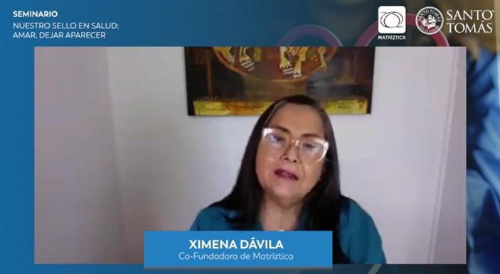 """Ximena Dávila: """"Somos seres amorosos, el dejar aparecer implica todo un sello y toda una identidad que tiene que ver con humanizarnos"""""""