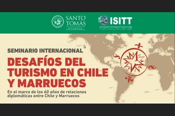 Santo Tomás realiza Seminario con el Instituto Superior Internacional de Turismo de Tánger