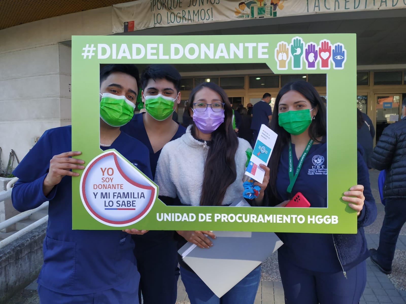 Estudiantes de enfermería participan en Jornada de concientización sobre donación de órganos