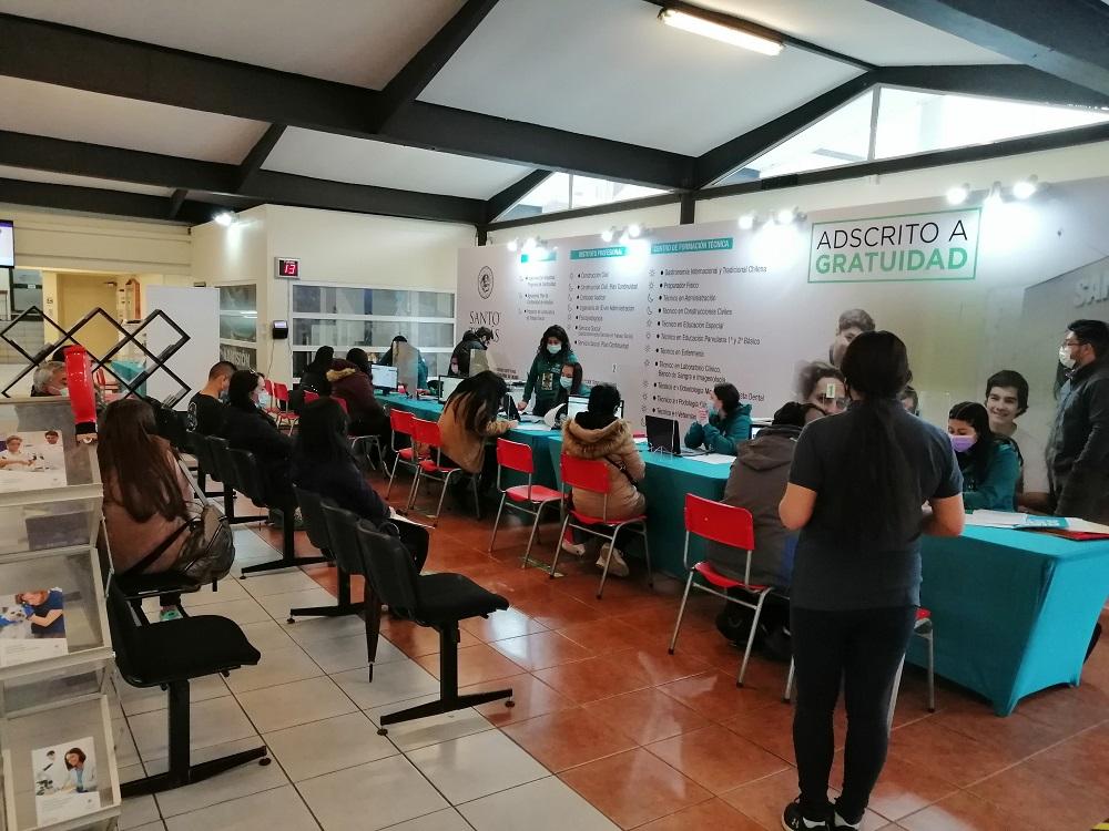 Con gratuidad y matrícula costo cero Santo Tomás Osorno inició proceso de admisión 2022