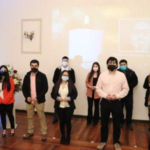 Psicología de la UST Los Ángeles homenajea a su director Tito Aedo en ceremonia de investidura