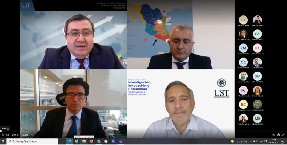 Universidad Santo Tomás Talca debatió sobre las oportunidades del Mercado de la Alianza del Pacífico post pandemia
