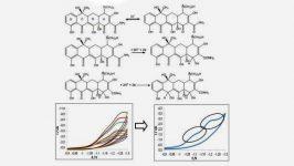 Mecanismo de Reducción de la Tetraciclina y Voltamperogramas cíclicos de Tetraciclina.