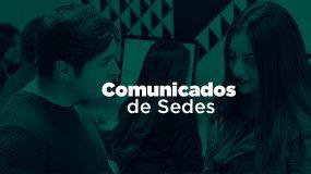 Comunicados de Sedes