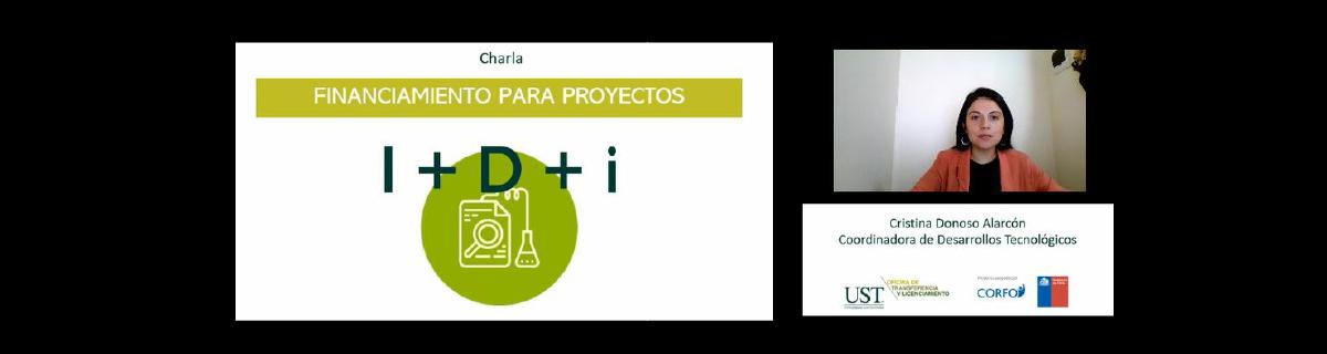 """9 de julio de 2020, Santiago – Charla Web """"Financiamiento para Proyectos I+D+I"""""""